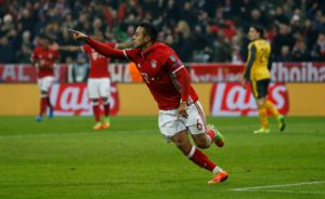 Bayern Munich midfielder Thiago is relishing Saturday's pre-season showdown with Real Madrid in the United States.