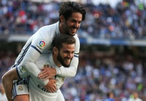 Defender Nacho looks set to remain with Real Madrid for another season despite the prospect of reduced game time.