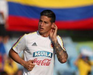 Napoli president Aurelio de Laurentiis has urged Real Madrid to lower their James Rodriguez demands.