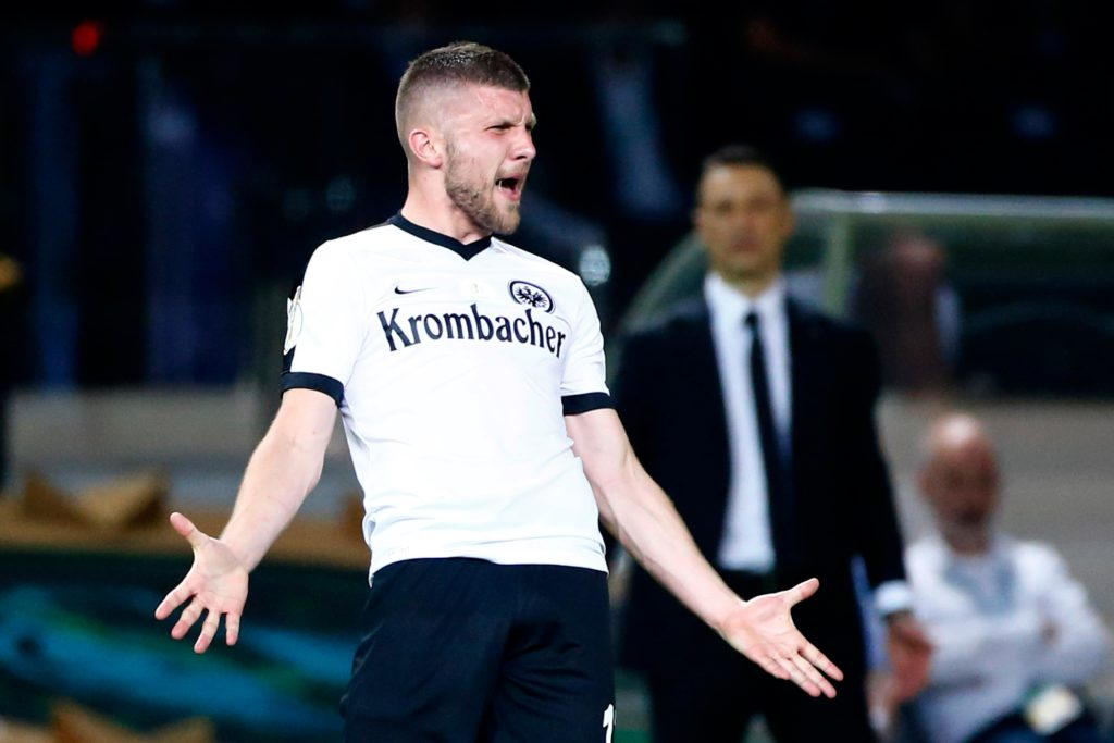 Atletico president Miguel Angel Gil Marin has denied reports that the club has made an approach for Eintracht Frankfurt's Ante Rebic.