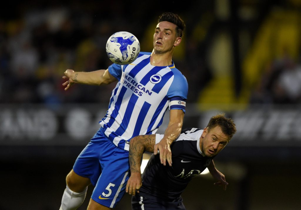 Brighton defender Lewis Dunk is reportedly eyeing a move to Leicester City this summer despite stating he is keen to skipper the Seagulls.