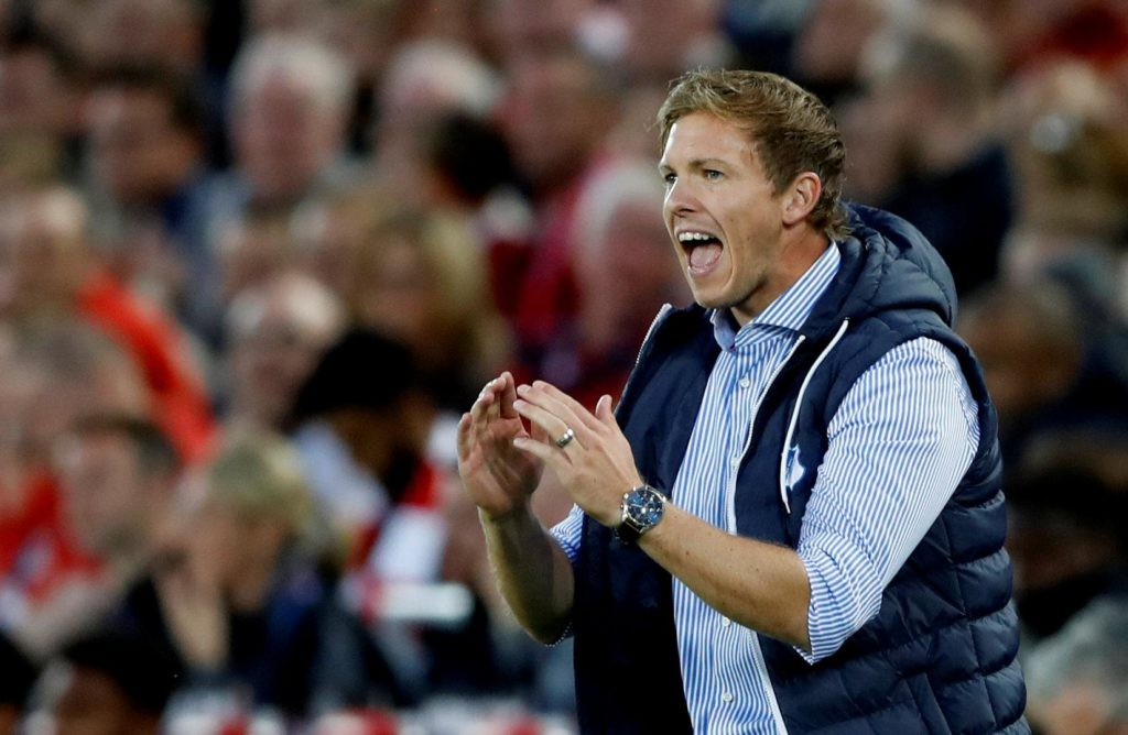 RB Leipzig coach Julian Nagelsmann has spelt out his ambitions for the future and is determined to bring silverware to the club for the first time.