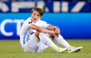 Reports claim Sheffield United's bid for Genk's Sander Berge was rejected because the midfielder wants to play for a bigger club.