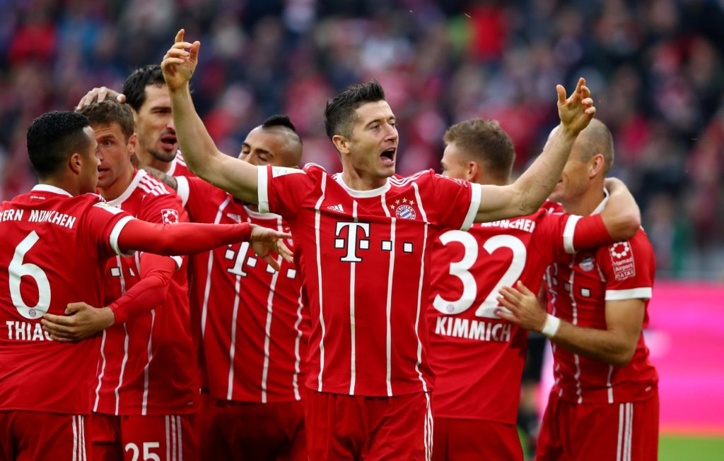 Bayern Munich continued their preparations for the new season with a 2-1 defeat against Arsenal in the United States.