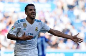 Arsenal are reportedly closing in on a swoop to sign Real Madrid's Spain international midfielder Dani Ceballos on a season-long loan.