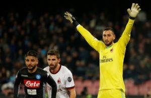 Goalkeeper Gianluigi Donnarumma admits he is desperate to bring Champions League football back to AC Milan for next season.