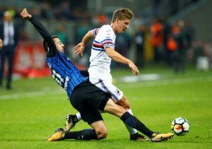Leicester City are interested in signing Sampdoria's Belgian midfielder Dennis Praet, according to reports.