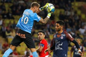 Montpellier goalkeeper Benjamin Lecomte has joined French Ligue 1 rivals Monaco on a five-year deal for a reported 13million euros.