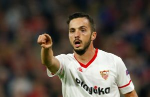 Paris Saint-Germain have completed the signing of Pablo Sarabia on a five-year deal from Sevilla.
