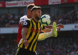 Watford defender Marc Navarro is on the verge of joining La Liga outfit Leganes on loan.