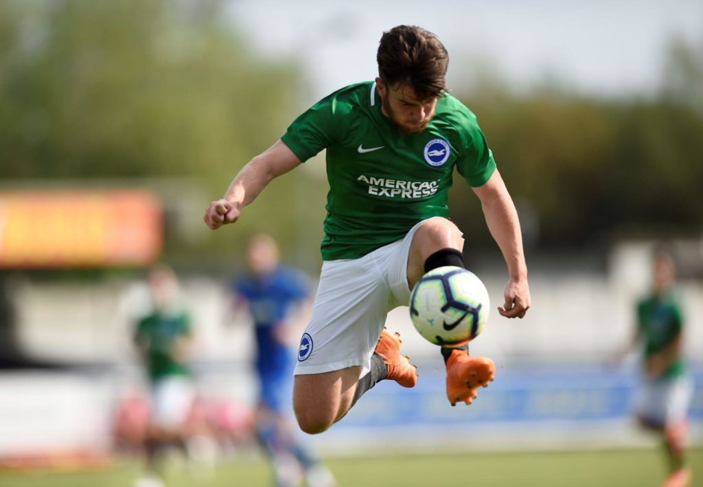 Aaron Connolly is aiming to impress Brighton boss Graham Potter on the Austria tour as he looks to force his way into the first team.
