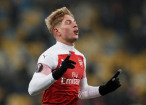Wolfsburg have joined the race to sign young Arsenal midfielder Emile Smith-Rowe on a season-long loan deal.