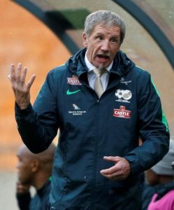 South Africa boss Stuart Baxter believes all the pressure is on hosts Egypt ahead of Saturday's Africa Cup of Nations last-16 clash.