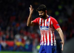 Atletico Madrid striker Diego Costa has emerged as a potential target for Premier League outfit Everton.