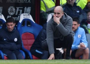 Pep Guardiola cool despite Manchester City losing at Norwich.