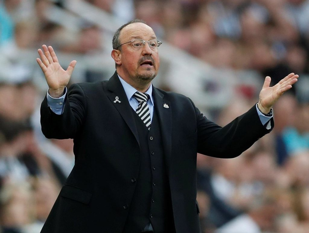 Rafael Benitez is happy in China.