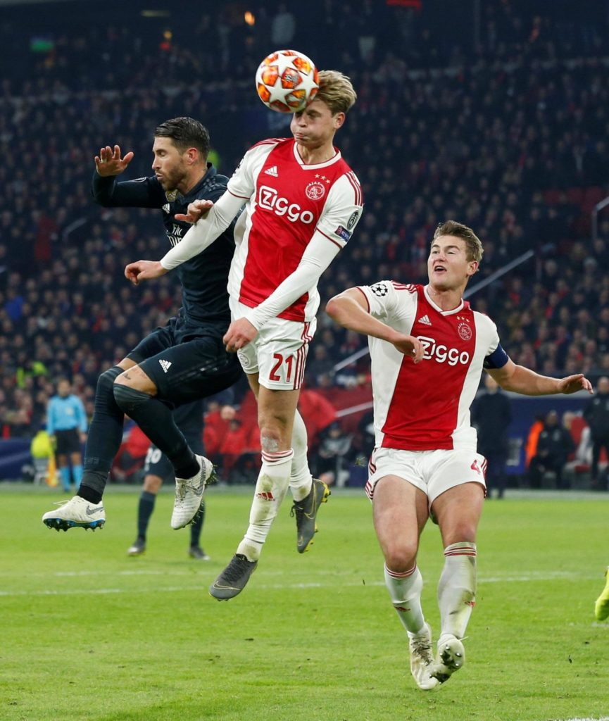 New Barcelona midfielder Frenkie de Jong admits he thought he would be an Arsenal player before signing for the La Liga side.