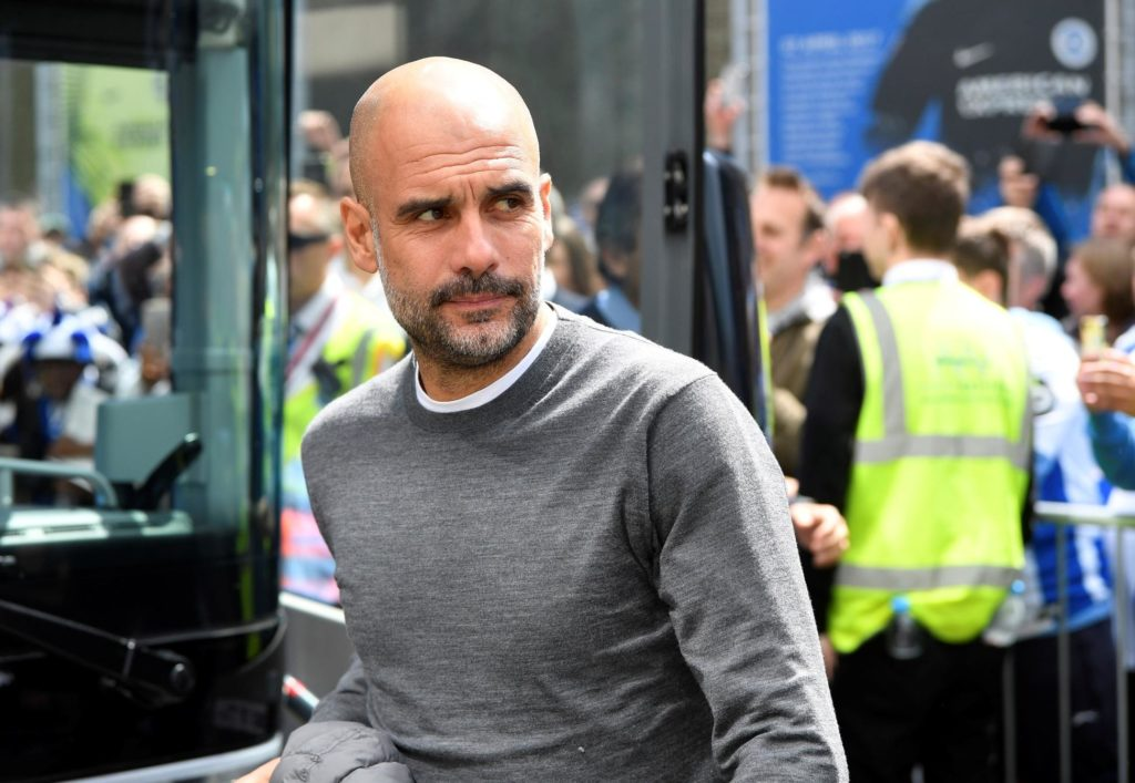 Pep Guardiola has confirmed Manchester City are in the market for a new centre-back this summer.