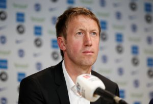 Graham Potter is looking for Brighton to have 'belief and courage' when they go up against the Premier League's big guns this season.