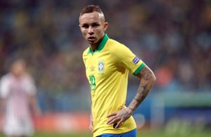 Arsenal are believed to be locked in talks with Brazilian side Gremio with a view to wrapping up a deal for their star winger Everton Soares.