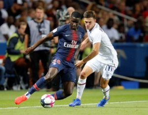 Lille are reportedly interested in Paris Saint-Germain left-back Stanley N'Soki, but could face competition from Italian side Lazio.