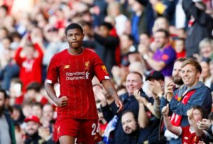 Rhian Brewster says he's determined to take his chance at Liverpool this season after being talked up by boss Jurgen Klopp.