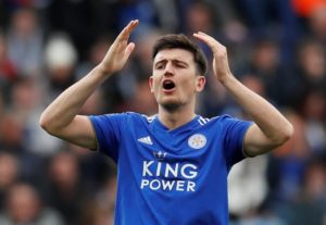 Manchester United have reportedly submitted a 'world record' £80m offer for Harry Maguire, but Leicester will turn it down.