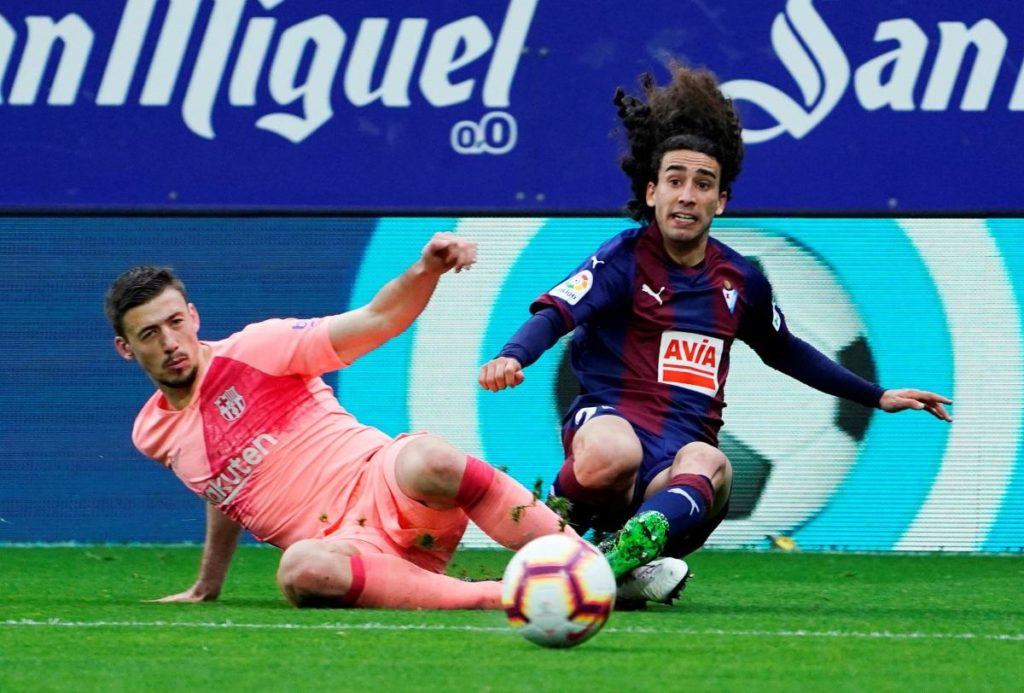 Burnley reportedly made a £10.5million bid for Marc Cucurella, but were beaten to the signing of the Barcelona full-back by Getafe.