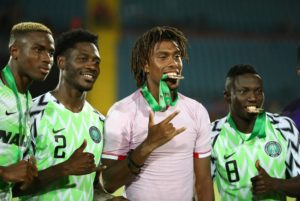 Nigeria international Alex Iwobi has praised their 'great achievement' after finishing third at the Africa Cup of Nations.