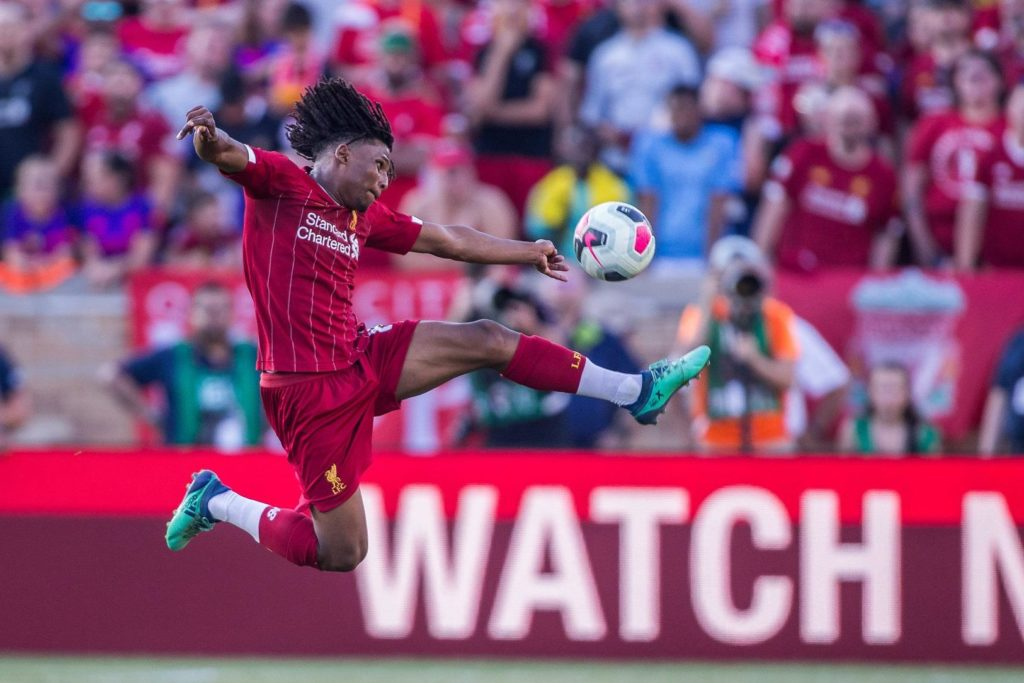 Liverpool boss Jurgen Klopp was full of praise for youngster Yasser Larouci following his performance against Borussia Dortmund.