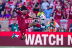 Liverpool boss Jurgen Klopp was full of praise for youngster Yasser Larouci following his performance against Borussia Dortmund.