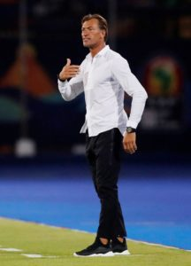 Herve Renard has stepped down as manager of Morocco following their early exit from this summer's Africa Cup of Nations.