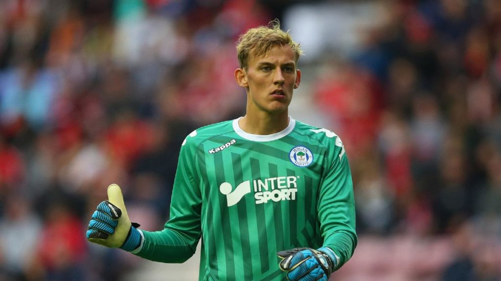 Christian Walton wants to play in goal for Brighton one day, but his loan to Blackburn suits him currently.