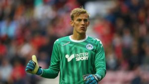 Goalkeeper Christian Walton says he 'jumped at the chance' to join Blackburn on a season-long loan deal from Brighton.