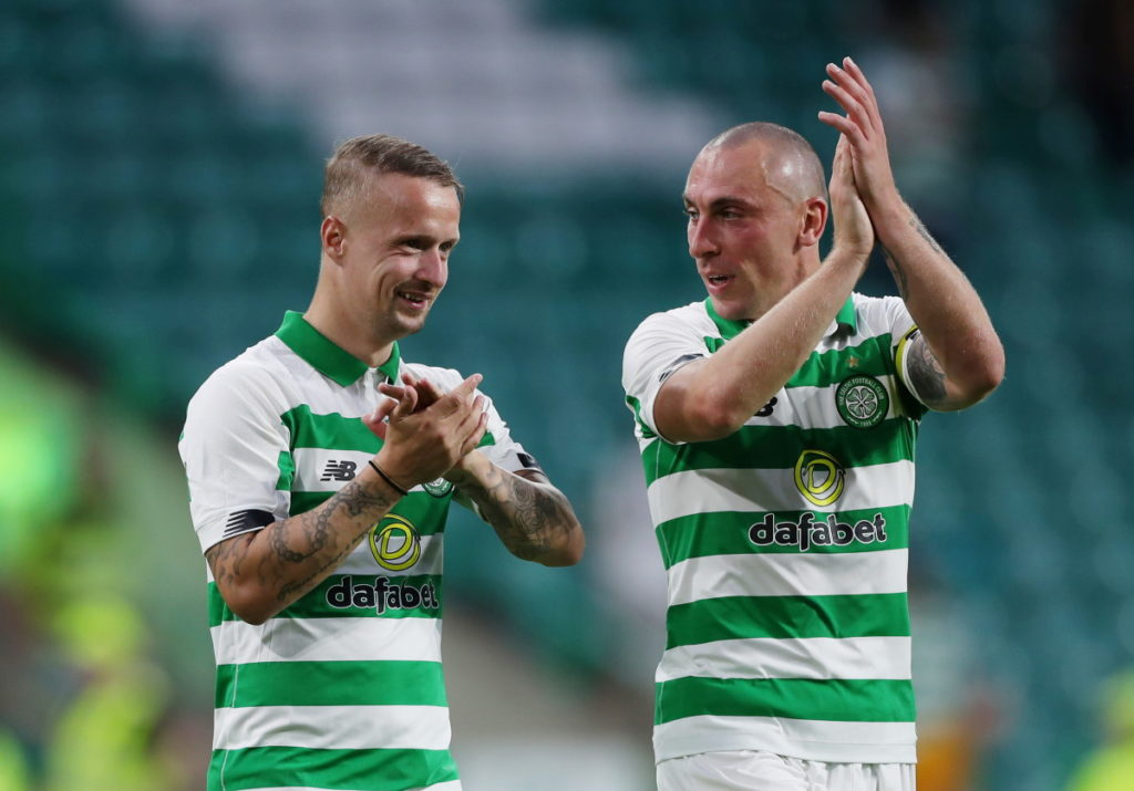 Scotland boss Steve Clarke says Leigh Griffiths remains firmly in his plans but he felt it was too early to include the Celtic striker in his latest squad.