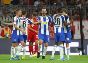 Dodi Lukebakio says a desire to continue his career in the Bundesliga was a key factor in his decision to join Hertha Berlin during the summer.