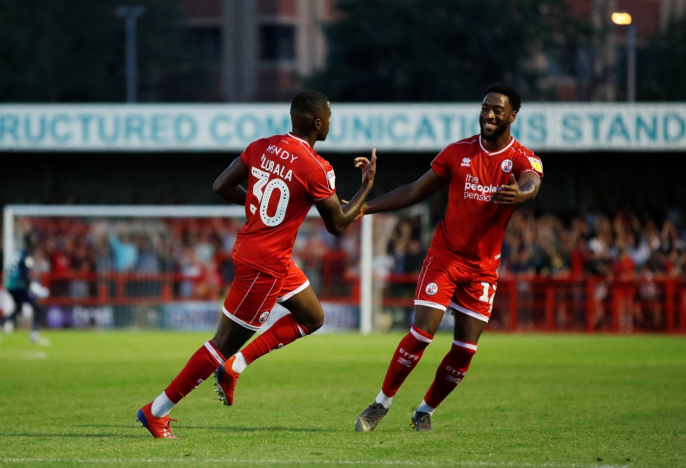 League Two Crawley Town secured a huge upset as they defeated Premier League Norwich City 1-0 in the second round of the Carabao Cup.