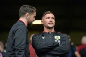 Danny Drinkwater is closing in on his first appearance for Burnley following his deadline-day loan move from Chelsea.