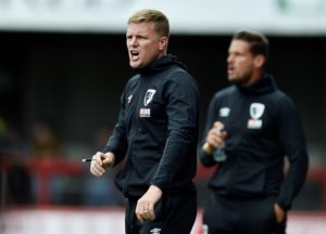 Bournemouth boss Eddie Howe again looks like he will have his resources stretched when his side host Manchester City on Sunday.