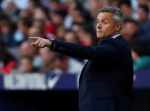 Celta Vigo have sacked Fran Escriba.