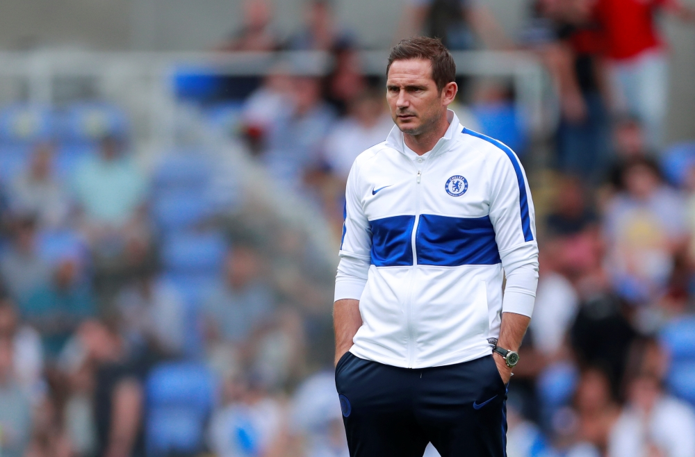 Lampard wants Chelsea response.