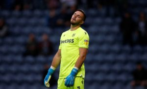 Stoke boss Nathan Jones says he wouldn't swap Jack Butland for any other goalkeeper in the Championship, despite his recent struggles.