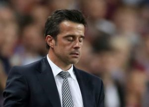 Marco Silva admits Everton's inability to find the back of the net against Aston Villa is a concern as they extended their record to one goal in three matches.