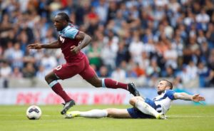 West Ham are waiting to learn the full extent of Michail Antonio's latest injury setback after he limped off against Newport County.