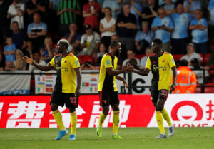 Watford won for the first time since April and relieved some off the pressure on boss Javi Gracia as they swept Coventry aside in the Carabao Cup second round.