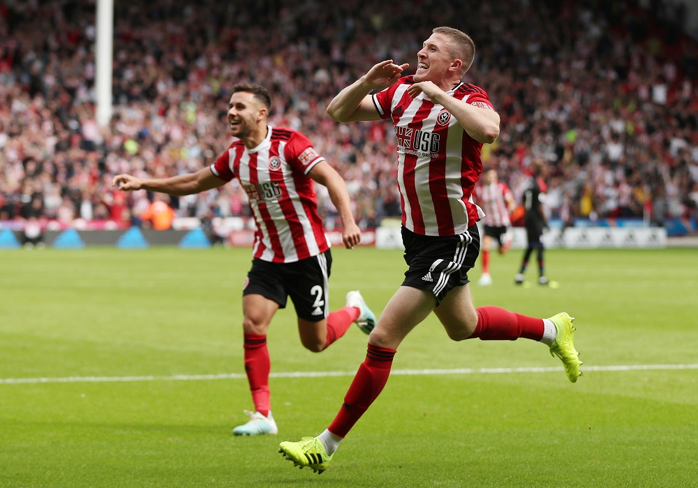 John Lundstram scored the only goal of the game as Premier League new boys Sheffield United edged out Crystal Palace 1-0 at Bramall Lane.