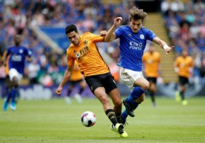 Leicester boss Brendan Rodgers has praised Caglar Soyuncu for the manner in which he stepped up in Sunday's 0-0 draw against Wolves.
