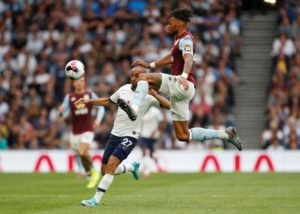 Aston Villa boss Dean Smith believes Tyrone Mings could soon earn an England call up if he maintains his current form.