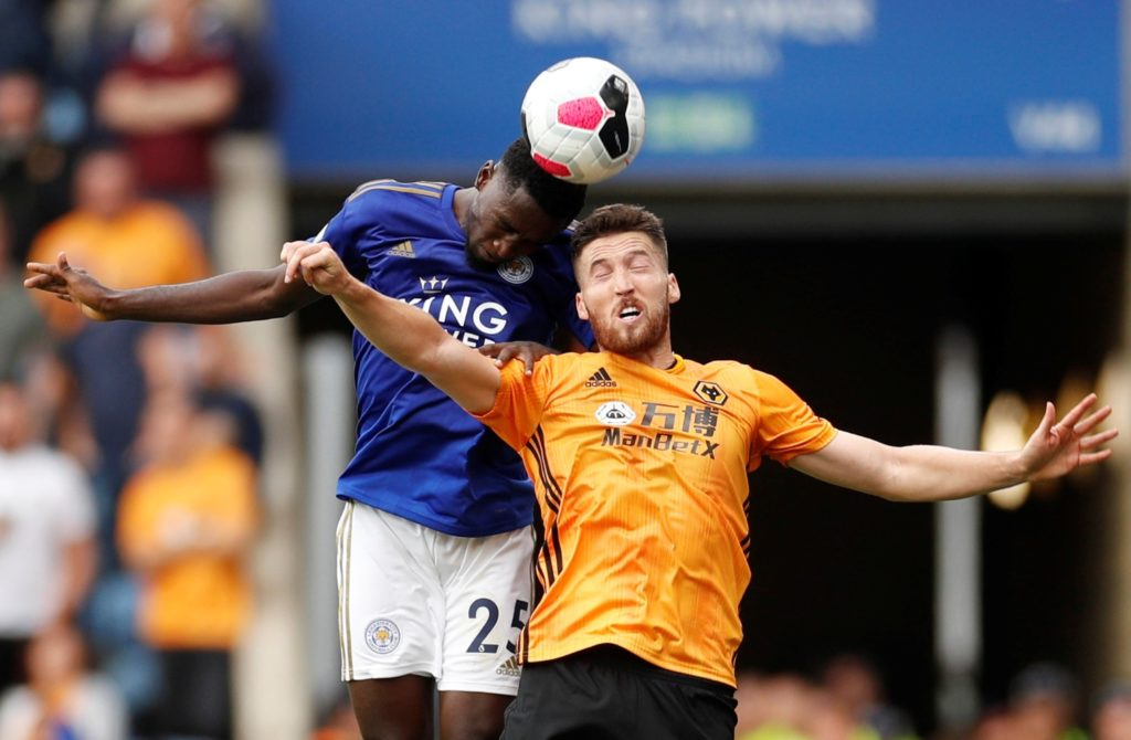 "Wilfred Ndidi says Leicester's performance in Sunday's 1-1 draw at Chelsea shows they are ready to ""contend"" this season."