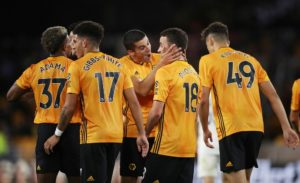 Wolves withstood a late scare to secure a 3-2 victory at Torino in the first leg of their Europa League qualifying play-off tie.